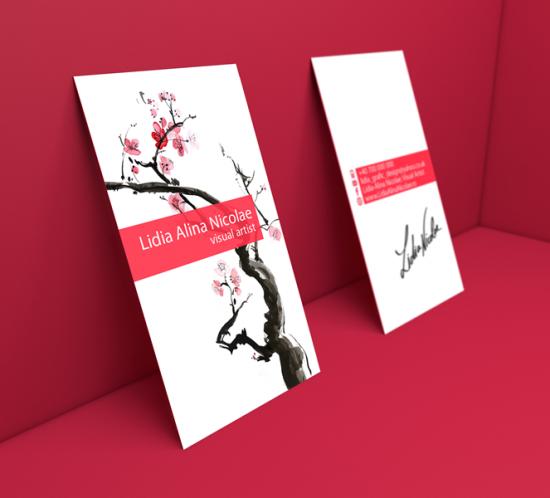 Business card Visual artist